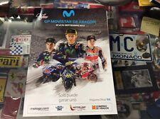 OFFICIAL MOTOGP MOVISTAR DE ARAGON PROGRAMME 2017
