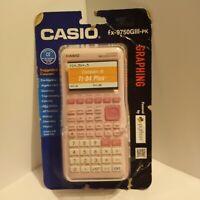 Casio fx-9750GIII Pink Graphing Calculator NEW! Damaged Box