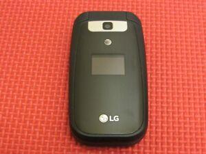 LG LG-B470 AT&T Wireless 256MB Large-Button Black Flip Cell Phone LGB470