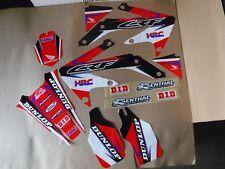 TEAM HONDA RACING  GRAPHICS  HONDA CRF450X  CRFX
