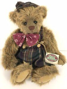 "1995 Artist Ganz Cottage Collectibles Teddy Bear Dempster 12"" NWT"
