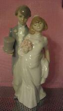 "Lladro ""Wedding Bells"" Bride & Groom  #6164 - Retired"