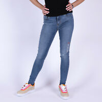 Levi's 720 High Rise Super Skinny Too Much To Think blau Damen Jeans
