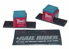 Rail Rider - Magnetic Pool Cue Chalk Holder For The Billiard Table
