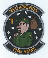 "134th AIRCRAFT MAINTENANCE SQUADRON ""VAGABONDS"" !!NEW!!  patch"