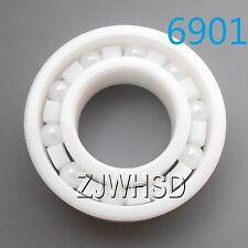 6901 Full Ceramic Zirconia Oxide Bearing ZrO2 12x 24x 6mm 61901 Self-lubricating