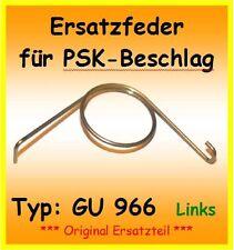 ORIGINAL GU966 Ersatzfeder für PSK 966 Schiebetür DIN L Feder DIN Links G.U.