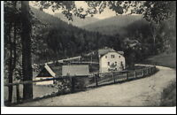 Kipsdorf Sachsen Postkarte ~1920/30 Teilansicht Wald Verlag Max Holfert Panorama