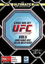 UFC Ultimate Collection Vol 5 (DVD, 5-Disc Set) UFC 58 to UFC 62 R4 NEW/SEALED