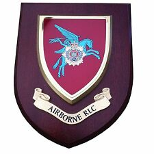 RLC Airborne Wall Plaque Royal Logistic Corps Regimental Military