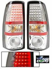 TIFFIN ALLEGRO 2009 2010 2011 2012 CHROME LED TAIL LAMPS TAILLIGHTS RV - SET
