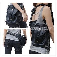 Cool Steampunk Belt Bag Waist leg Hip Holster Coin Purse Pouch Motorcycle Bag