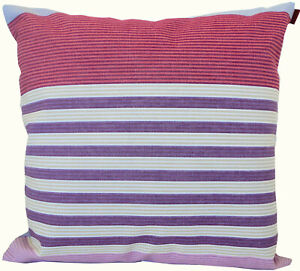 "MISSONI ESTELLE T59 100% COTTON REPPS 16x16""  CUSHION COVER  not printed"