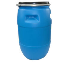 1 X 100L Round Plastic Drum Barrel Home Brew Water Bung Food Grade 100LT Drums