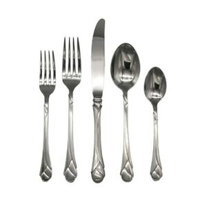 Mikasa SWEET PEA  18/8 Stainless Steel 5pc. Place Setting (Service for One)