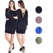 Women Dress Casual Longshirt Fashion Mini Dress Cocktail Dress, 8246