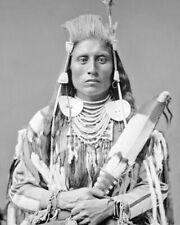 Native American CHIEF MEDICINE CROW Glossy 8x10 Photo Crow Nation Print Poster