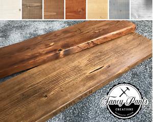 Reclaimed Scaffolding Shelf Scaffold Board Rustic Shelves Industrial Solid Wood