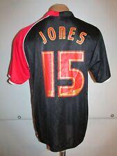 SOUTHAMPTON 2006/2007 AWAY FOOTBALL SHIRT SOCCER JERSEY #15 JONES VINTAGE TOP S