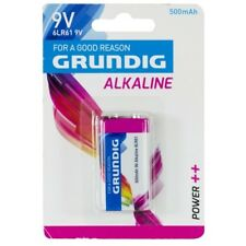 Pila Batteria alcalina 6LR61 9V 500 mAh Grundig