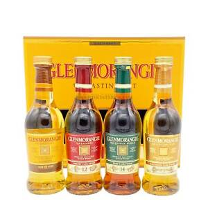 Glenmorangie Whisky Tasting Pack Probier Set 4x0,1l Highland Single Malt Whisky