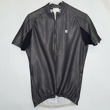 Campagnolo Sz L Large Reflective Liquid Silver Cycling Jersey Made in Italy