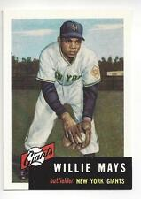 Willie Mays 1953 Topps Topps Archive Reprint Card # 244