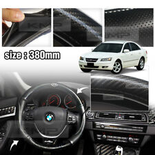 Carbon Steering Wheel Cover Glossy Urethan 380mm for HYUNDAI 2006-10 Sonata NF