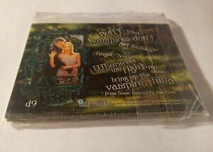 1999 BUFFY THE VAMPIRE SLAYER SERIES 2 DARK DESTINY CHASE CARDS NM