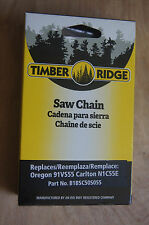 """CHAINSAW CHAIN 3/8"""" Low Profile .050"""" 55 DRIVE LINKS * Timber Ridge  * NEW *"""