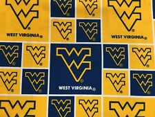 WEST VIRGINIA  45' COTTON FABRIC BY THE 1/2 YARD Sykel Enterprises