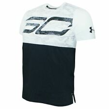 Under Armour Stephen Curry Short Sleeve Top Long Line Boys T-Shirt 1317975 100
