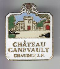 RARE PINS PIN'S .. ALCOOL VIN WINE BORDEAUX FRONSAC CHATEAU CANEVAULT 33 ~C8