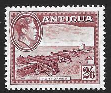 Antigua 1942 2/6 Maroon SG 106a (Mint)