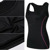 Women Gym Sports Fitness Yoga Tops Vest Fast Dry Workout Bike Jogging Tank LOT