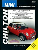 MINI COOPER SHOP MANUAL SERVICE REPAIR S BOOK CHILTON WORKSHOP GUIDE HAYNES