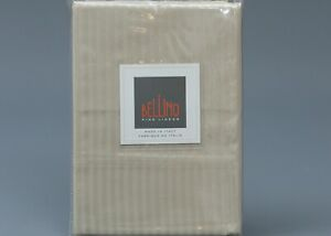 2 (Two) BELLINO TAUPE MILLERIGHE 100% Cotton SATEEN STANDARD Pillowcase