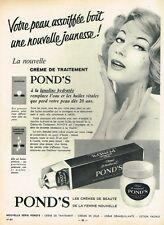 F- Publicité Advertising 1958 Cosmétique la crème Pond's