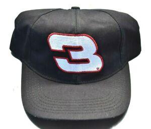 DALE EARNHARDT 3 Hat Vintage Cap New Old Stock CHASE AUTHENTICS Branded NASCAR
