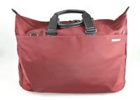 "Men's Briggs & Riley 'Sympatico'  22"" Red Nylon Duffle Bag  S150-2"