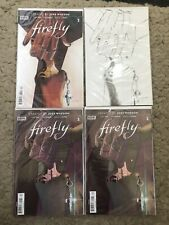 Firefly #2 Garbett A, 2nd Print, 3rd Print & 1:50 Sketch Variants All NM
