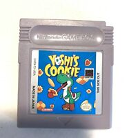 Yoshi's Cookie Nintendo Gameboy Original Game - Tested - Working - Authentic!