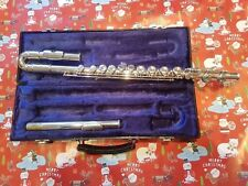 Blessing flute with curved  and straight headjoint