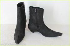 Bottines Boots MINELLI Cuir Noir T 40 TTBE