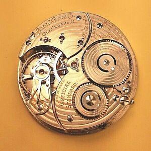 Great 16s, 21 jewel Hamilton, Bsll 999P Pocket  Watch Movement - 21j