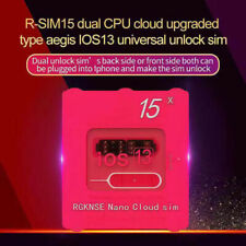 R-SIM15 Nano Unlock RSIM Card for iPhone 11 Pro XS Max XR 8 7 6s Plus iOS13 12 ~