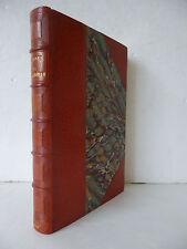 COLETTE. La Vagabonde. Paris: Ollendorff (1910). Edition originale. 1/2 maroquin