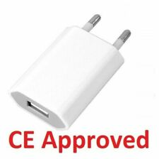 GENUINE CE  EU European 2 Pin Plug USB Power Home Wall Charger Travel Adapter