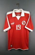4.4/5 Switzerland jersey Large 2002 2003 home shirt soccer football Puma  ig93