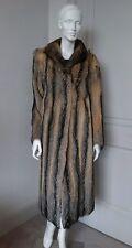 Real Fox Fur long Coat sz XS-S